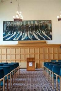 Interior Canada Room and Council Chamber, Queen's University Belfast