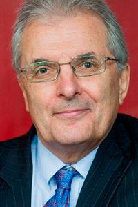 Professor Chris Rapley, slightly smiling