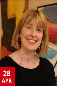 Professor Fionnuala Ní Aoláin smiling