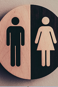 Woman & Man Silhouette