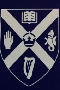 Queen's University Belfast, Coat of Arms, Silver/Navy