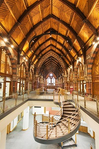 Internal view, The Graduate School, Queen's University Belfast