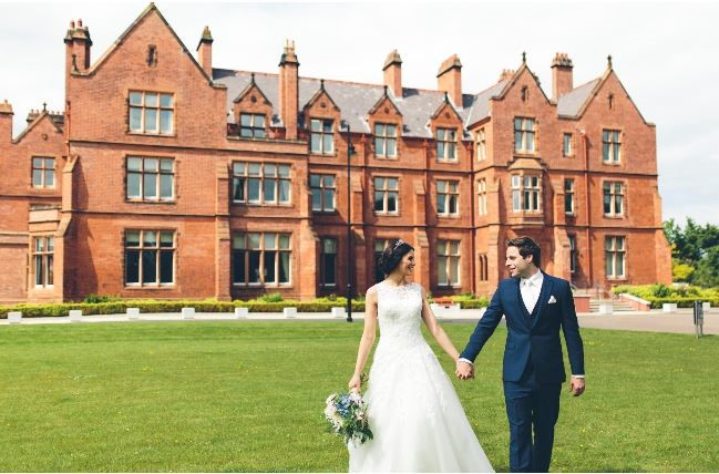 Couple at Riddell Hall