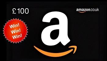 £100 Amazon gift card to be won