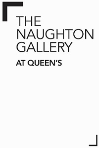 The Naughton Gallery at Queen's, black text on white background
