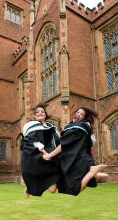 jumping grads at the lanyon